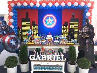 Aniversário 3 anos Gabriel