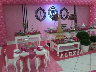 Aniversário 8 anos Alexia