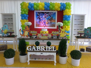 Aniversário 6 anos Gabriel