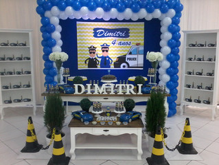 Aniversário 4 anos Dimitri