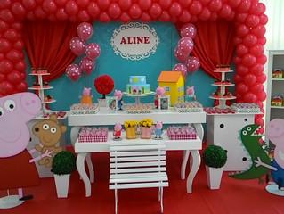 Aniversário 2 anos Aline