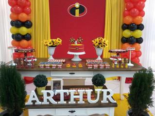 Aniversário 4 anos Arthur