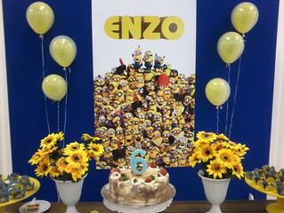 Aniversário 7 anos Enzo