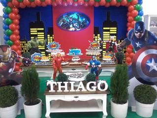 Aniversário 4 anos Thiago