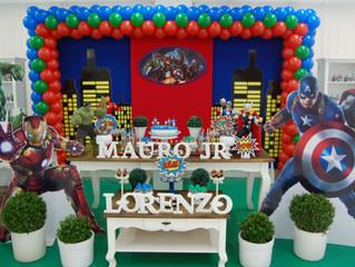Aniversário Mauro Jr  e Lorenzo