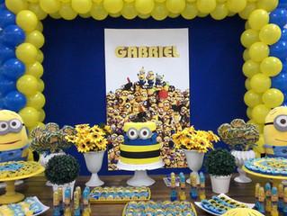 Aniversário 4 anos Gabriel