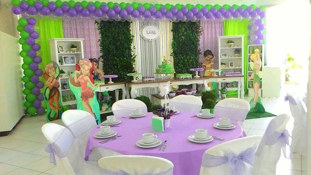 Tinker Bell - Festerê joinville salão de festa infantil