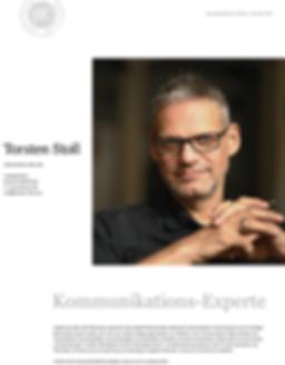 Kommunikationsexperte Torsten Stoll