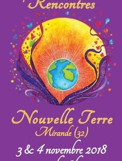 3 et 4 novembre : Rencontres Nouvelle Terre à Mirande (32)