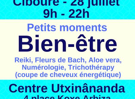 28 juillet : Petits moments Bien-être à Ciboure