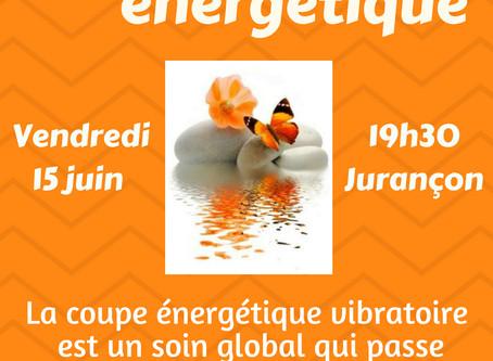 15 juin : Conférence Coupe énergétique vibratoire
