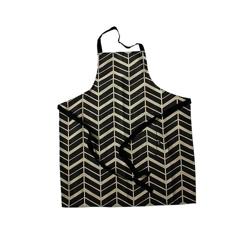 Adult Apron in Flow coal
