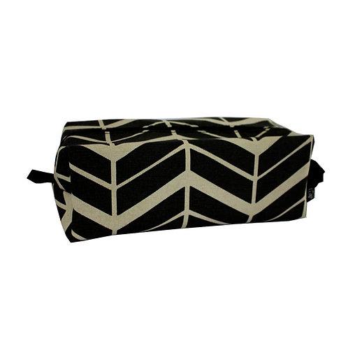 Side view Unisex box bag Flow coal