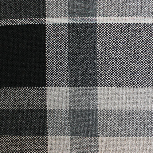 Afghanistan plaid col. Black