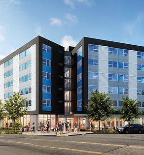 501 Rainier Supportive Housing Rendering