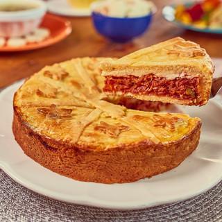 Jerked Beef Pie - Torta de Carne Seca