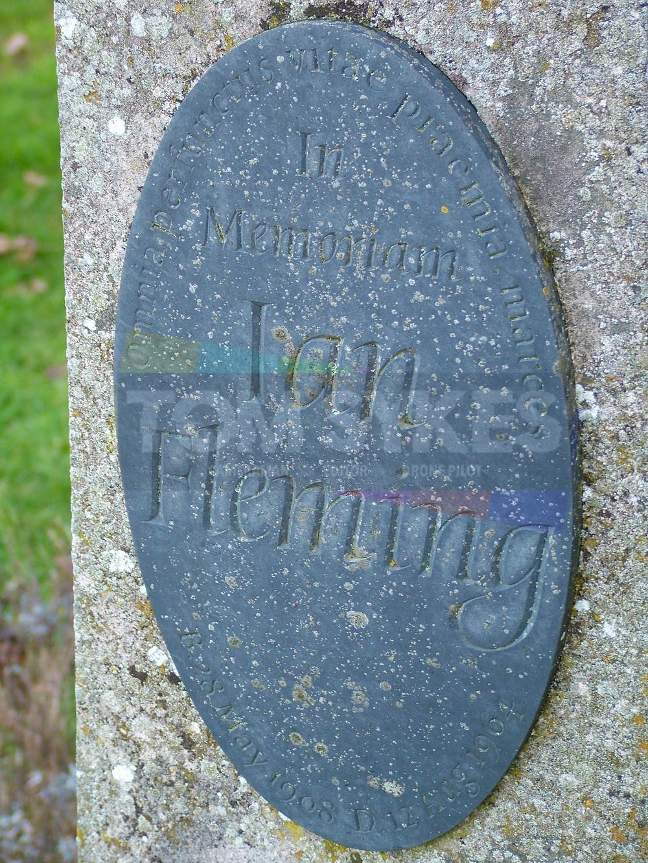 James Bond Author's Grave