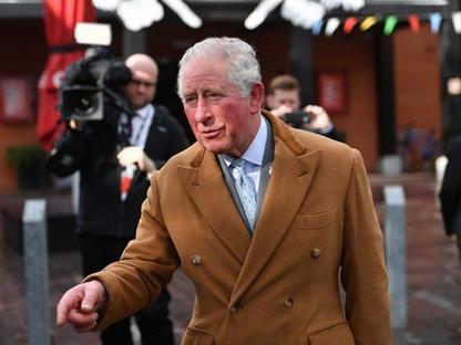 Prince of Wales at the RSC - Cameraman Stratford Upon Avon
