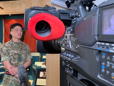 Gurkha Museum Story for BBC News - Hampshire Camera Operator