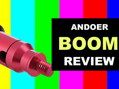 Andoer 3.5m Mic Boom Pole Review