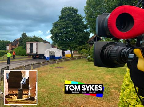Police Shooting in Swindon - Swindon Cameraman