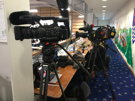 General Election Coverage for BBC News - Abingdon Cameraman