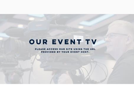 Client Bespoke Events Website