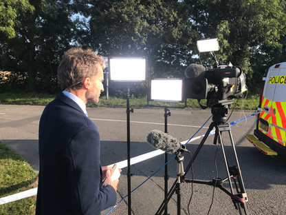PC Andrew Harper Murder Coverage - Berkshire Cameraman