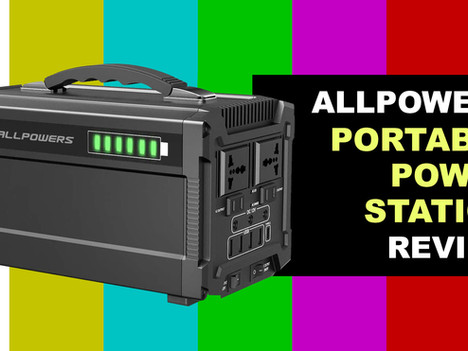 VIDEO REVIEW: ALLPOWERS Portable Generator 288Wh Power Station