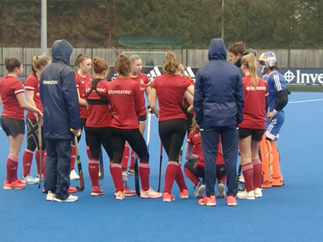 Great Britain Hockey Piece - Freelance Cameraman Berkshire