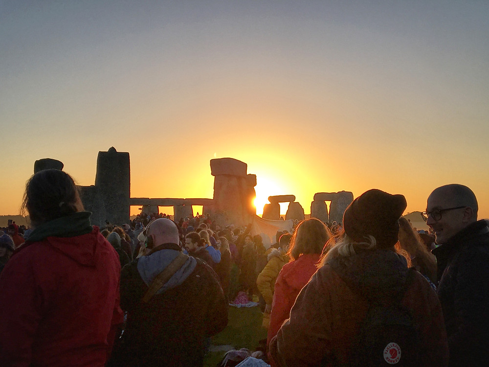 Wiltshire Cameraman filming the 2019 Summer Solstice at Stonehenge
