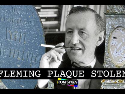 Ian Fleming's Grave Vandalised