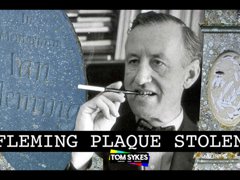 Ian Fleming's Grave Vandalised
