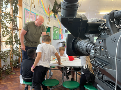 Tom Kerridge at the Holiday Activities and Food Club