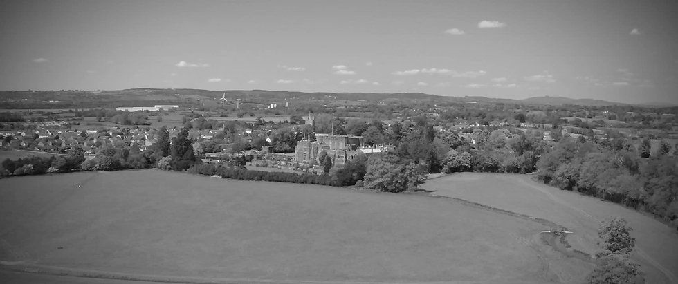 Aerial photography Swindon area