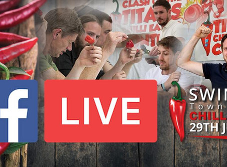 Chilli Eating Competition LIVE