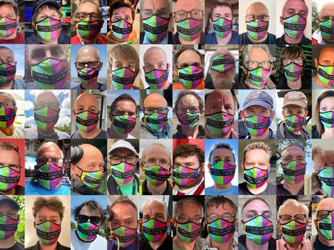 TV Face Masks A Roaring Success