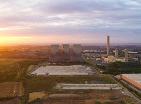 Didcot Cooling Towers Demolition - Cameraman Oxfordshire