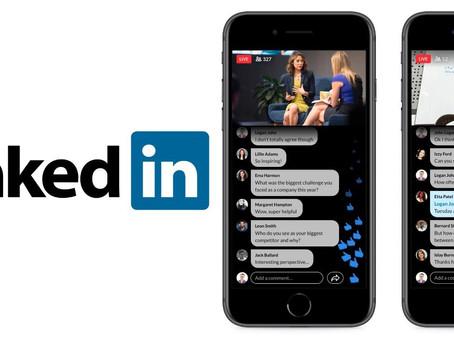 Linkedin Live - New Livestream Service