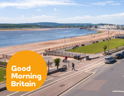 Live Drone For Good Morning Britain