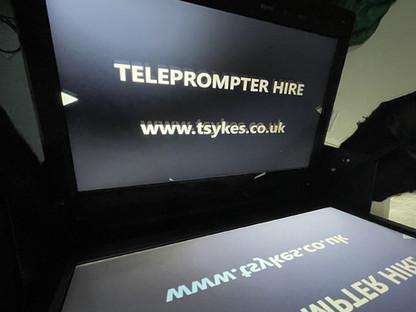New Lightweight Teleprompter