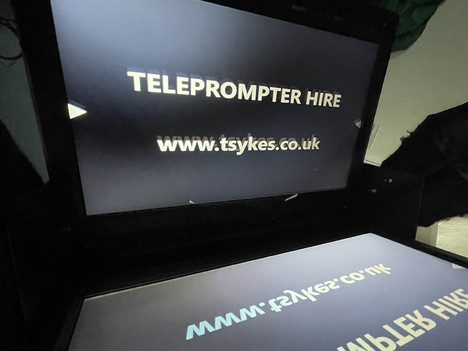 New Lightweight Teleprompter