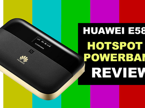 VIDEO REVIEW: Huawei E5885 CAT6/ 4G+ Mobile WiFi & Power Bank