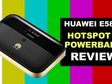 VIDEO REVIEW: Huawei E5885 CAT6/ 4G+ Mobile WiFi & Power Bank