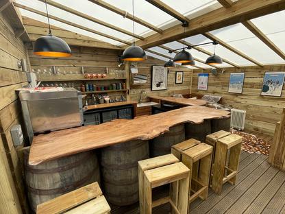 Marlborough Pub Chalet Story - BBC News