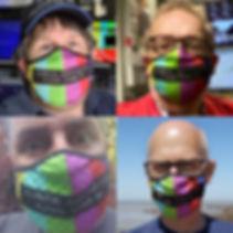 TV Theme Face Masks