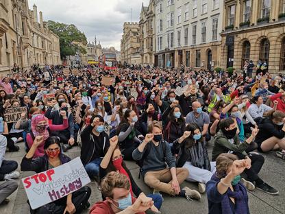 Black Lives Matter - Peaceful Oxford Protest
