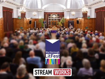 StreamWorks To Broadcast Marlborough Literature Festival