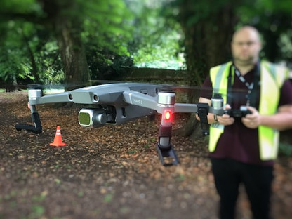 Droning On In Cirencester Park - Drone Pilot Cirencester