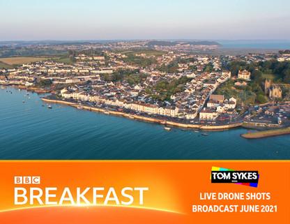 Kayaks 4 Heroes - BBC Breakfast Drone Pilot